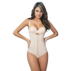 Body Gainant à Bretelles Effet Minceur Ventre Plat - Latina Mode - 2